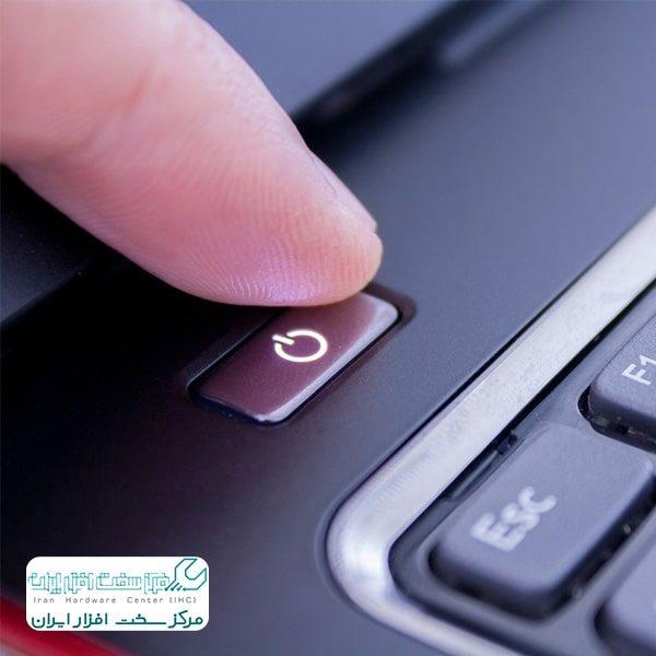 چرا لپ تاپ خاموش نمیشود