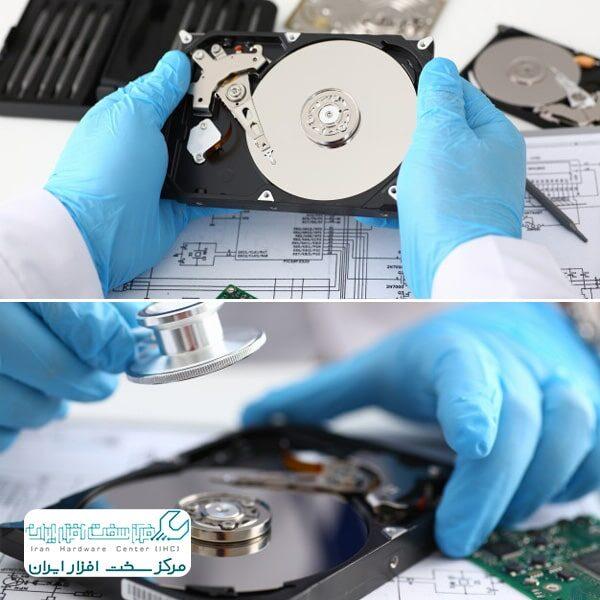 خرابی هارد دیسک کامپیوتر