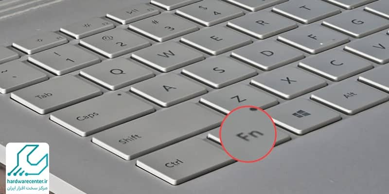 مشکل خرابی کلید fn