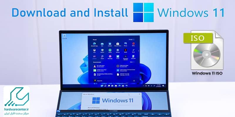 آموزش نصب ویندوز 11